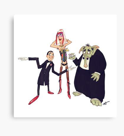 #07 A Monty Python Sketch Canvas Print