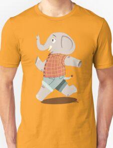 Happy elephants Unisex T-Shirt
