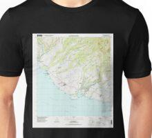 USGS TOPO Map Hawaii HI Hanapepe 349257 1996 24000 Unisex T-Shirt