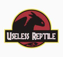 "Jurasic Park Funny ''Useless Reptile"" One Piece - Long Sleeve"