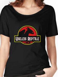 "Jurasic Park Funny ''Useless Reptile"" Women's Relaxed Fit T-Shirt"