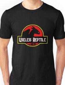 """Jurasic Park Funny ''Useless Reptile"""" Unisex T-Shirt"""