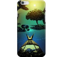 How Raven Brought Light into the World iPhone Case/Skin