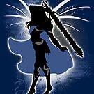 Super Smash Bros. Female Corrin Silhouette by jewlecho
