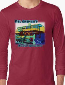 Del Grengo's Seafood Restaurant Dr. Steve Brule Design by SmashBam Long Sleeve T-Shirt