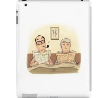 #09 A Morecambe and Wise Sketch iPad Case/Skin