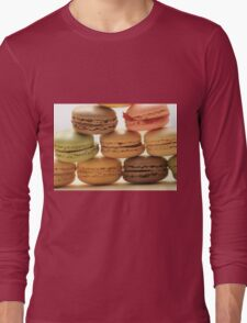 """Macarons by """"Provence Provence"""" Long Sleeve T-Shirt"""