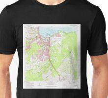 USGS TOPO Map Hawaii HI Hilo 349247 1981 24000 Unisex T-Shirt