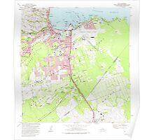 USGS TOPO Map Hawaii HI Hilo 349247 1981 24000 Poster