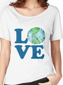 Earth Day Love Women's Relaxed Fit T-Shirt