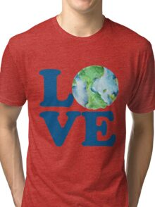 Earth Day Love Tri-blend T-Shirt