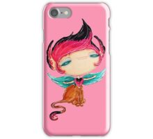 the rose sphinx, a beast of the further iPhone Case/Skin