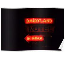 Dairlyland Motel Poster