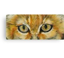 Eye-Catching Sand Cat Canvas Print