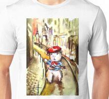 A Guinea Pig in Paris Unisex T-Shirt