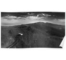 Skylines on Skylines on Mountains on Shacks on Roads Poster