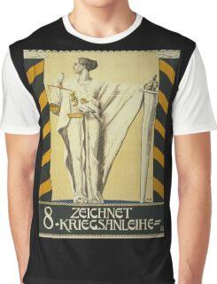 'Zeichnet 2' Vintage Poster Graphic T-Shirt