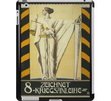 'Zeichnet 2' Vintage Poster iPad Case/Skin