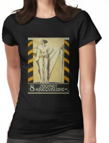 'Zeichnet 2' Vintage Poster Womens Fitted T-Shirt