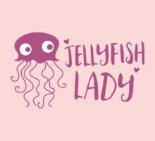 Jellyfish lady Kids Tee