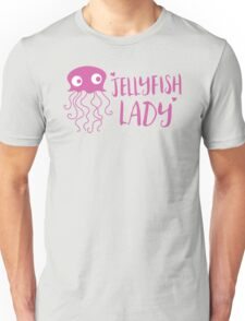 Jellyfish lady Unisex T-Shirt