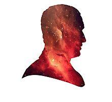 Ninth Doctor Galaxy Photographic Print