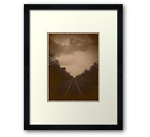 It's time to turn away and let tomorrow's dreams..become reality to me Framed Print