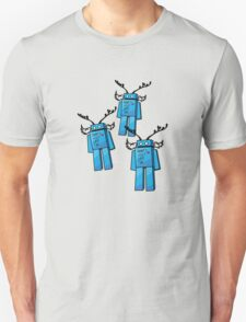Robots Need Love Two Unisex T-Shirt