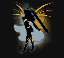 Super Smash Bros. Black Female Corrin Silhouette Unisex T-Shirt