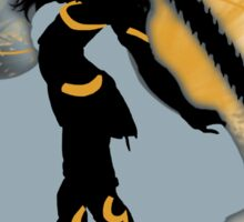 Super Smash Bros. Black Female Corrin Silhouette Sticker