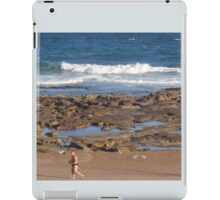 Beach Runner iPad Case/Skin