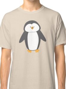 Cute little suited penguin Classic T-Shirt