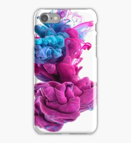 Silky Smooth / Lily Blue iPhone Case/Skin