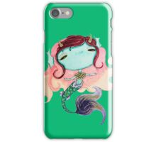 the green sea-devil, a beast of the further iPhone Case/Skin