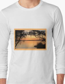 Super Sunset at Magical Myall Long Sleeve T-Shirt
