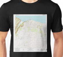 USGS TOPO Map Hawaii HI Kukuihaele 349509 1982 24000 Unisex T-Shirt