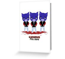 Caravan Palace - Lone Digger Greeting Card