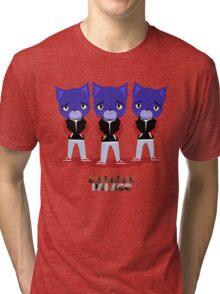 Caravan Palace - Lone Digger Tri-blend T-Shirt