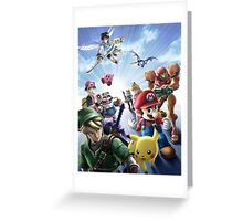 Brawl hell website art  Greeting Card