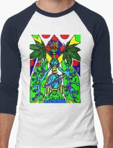 Herb Life  Men's Baseball ¾ T-Shirt