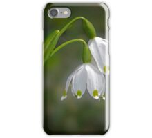 Spring Snowflake - March 2016 iPhone Case/Skin