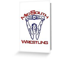 Mid-South Championship Wrestling Greeting Card