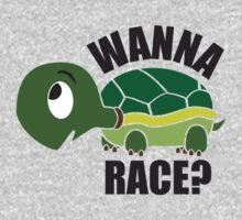 Wanna Race? One Piece - Long Sleeve