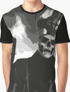 Papa Emeritus II - Black & White Graphic T-Shirt