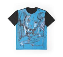 Blueberry Scary  Graphic T-Shirt