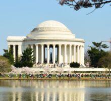 The Jefferson Memorial - Washington D.C.  MMXVI Sticker