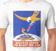 USA Poster: Salvage Scrap... Unisex T-Shirt