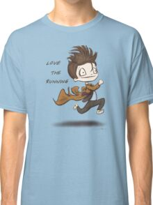 "Doctor Who - ""Love the Running"" Classic T-Shirt"