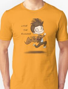 "Doctor Who - ""Love the Running"" Unisex T-Shirt"