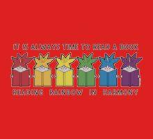 Reading Rainbow in Harmony One Piece - Short Sleeve